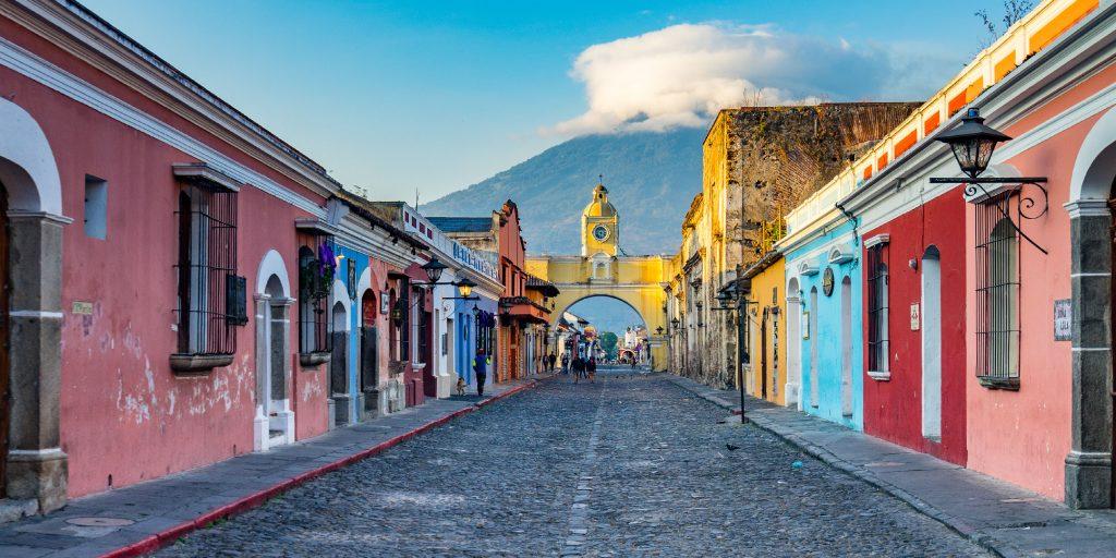 Impresionante arquitectura en Guatemala.