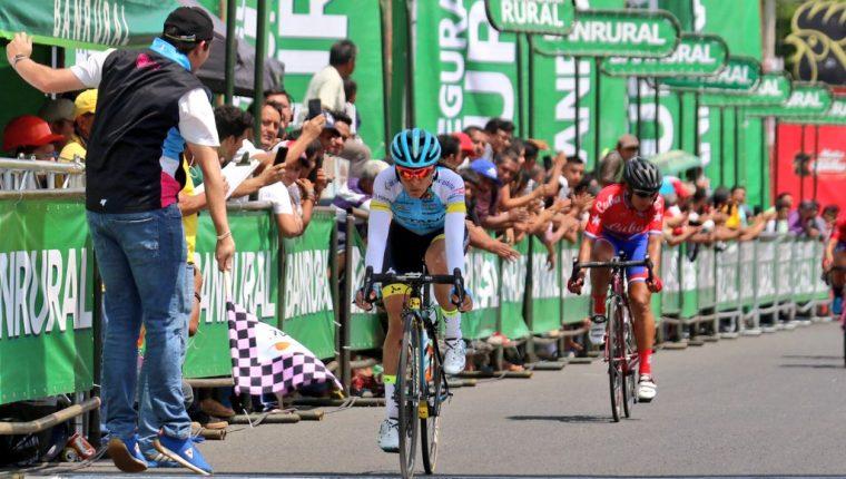 Ciclistas en Guatemala