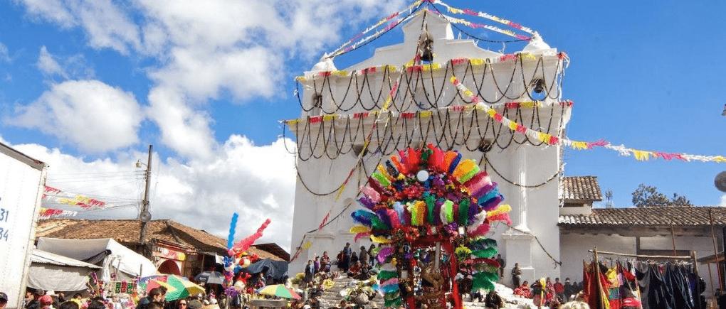 Mercado nativo de Guatemala