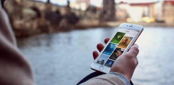 aplicación de celular