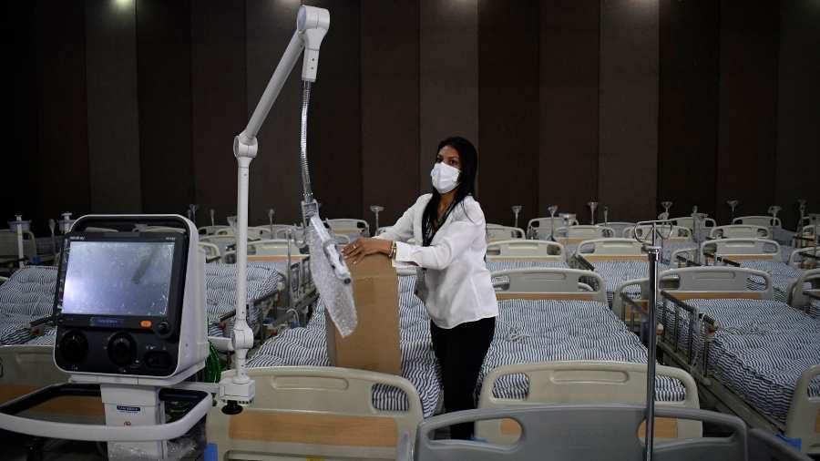 hospital para tratar covid en Guatemala