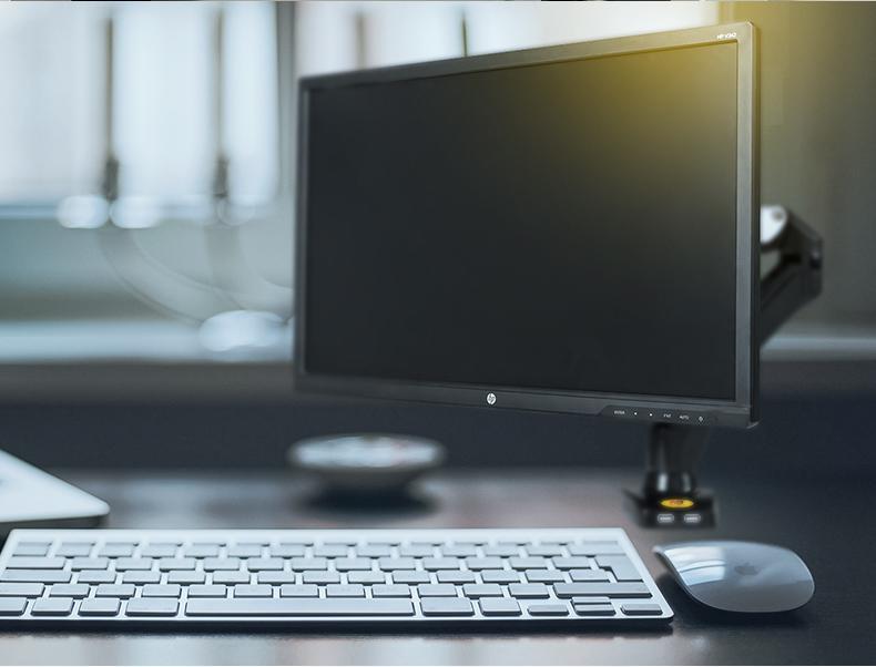 monitor con soporte de monitor