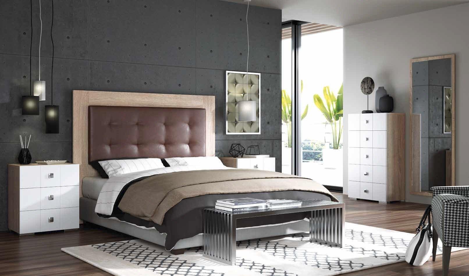 dormitorio moderno color neutro