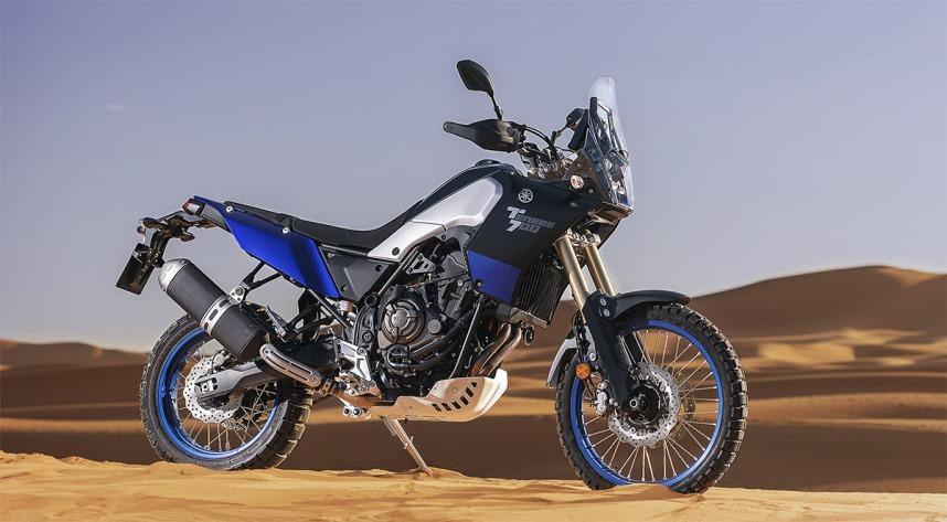 moto yamaha tenere 700