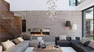 Casa moderna con muebles