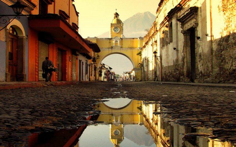 Vista de la Ciudad de Antigua Guatemala