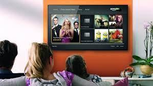 Televisión conectada con cable HDMI