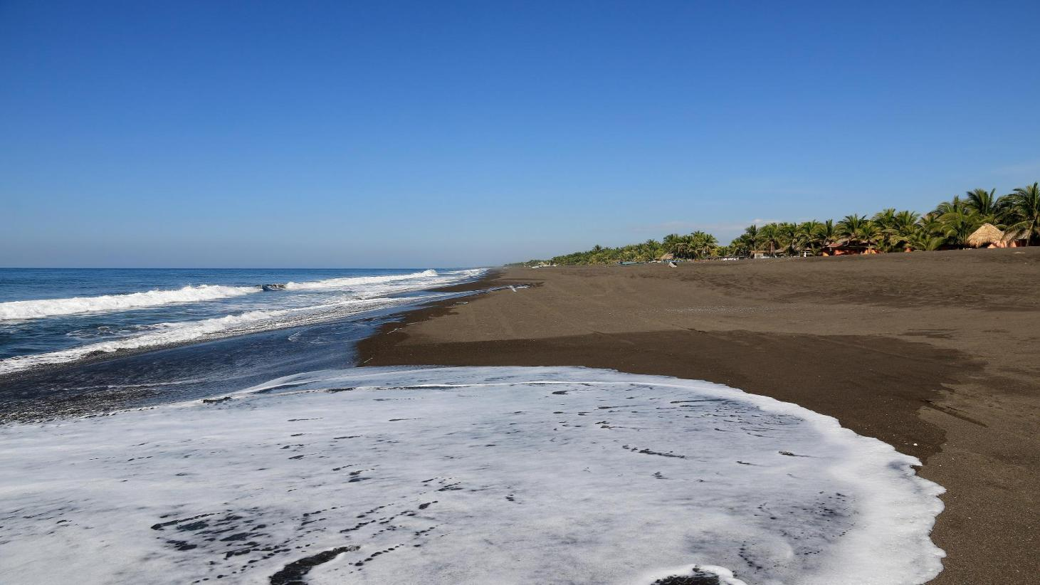 Playa Monterrico en Guatemala