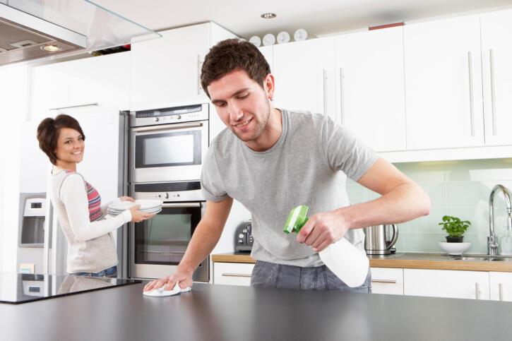 Como-limpiar-los-muebles-de-la-cocina-